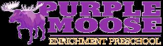 Purple Moose Preschool Portfolio logo